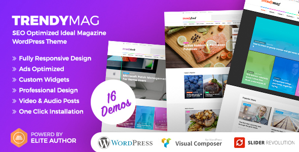 TrendyMag – WordPress News Magazine & Blog Theme