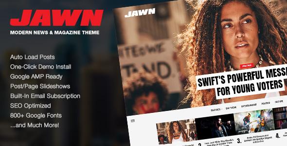 Jawn - Premium WordPress Theme