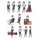 Female Business Characters - GraphicRiver Item for Sale