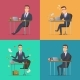 Businessman Scenes - GraphicRiver Item for Sale