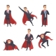 Businessman Superheroes - GraphicRiver Item for Sale