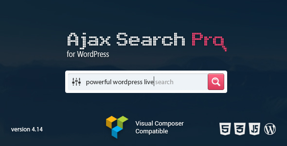 Ajax Search Pro - Live WordPress Search & Filter Plugin Nulled