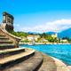 Tremezzo Tremezzina view, Como Lake district landscape. Italy, E - PhotoDune Item for Sale
