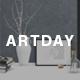 Artday - Creative Artist WordPress Shop - ThemeForest Item for Sale