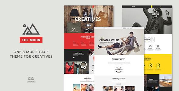 The Moon - Creative One Page Multi-Purpose Theme - Creative WordPress