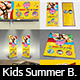 Kids Summer Camp Advertising Bundle Vol.2 - GraphicRiver Item for Sale