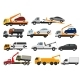 Tow Truck Vector Towing Car Trucking Vehicle - GraphicRiver Item for Sale