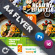 Healthy Food Flyer Templates - GraphicRiver Item for Sale