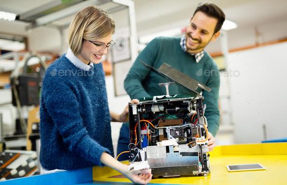 Robotics Engineer Students Teamwork Stock Photo By Nd3000 PhotoDune