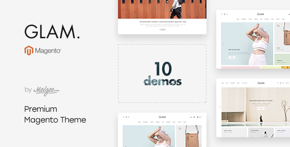Glam - Multi-Purpose Responsive Magento 2 and Magento 1 Theme - Magento eCommerce