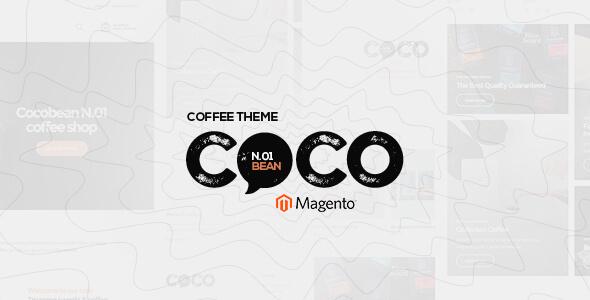 Cocobean - Responsive Coffee Magento 1 and Magento 2 Theme - Magento eCommerce