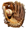 Old vintage leather baseball glove - PhotoDune Item for Sale