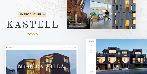 Kastell - Theme for Single Properties and Apartments - Real Estate WordPress