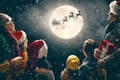 Family enjoying Christmas - PhotoDune Item for Sale