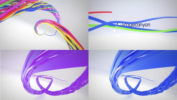 Colorful Ribbon Logo Reveal 22949767 - Free download