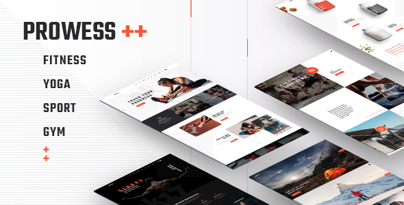 Prowess - Fitness and Gym WordPress Theme - Health & Beauty Retail
