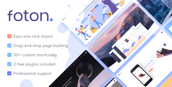 Foton - A Multi-concept Software and App Landing Theme - Software Technology