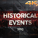 Historical Events II - VideoHive Item for Sale