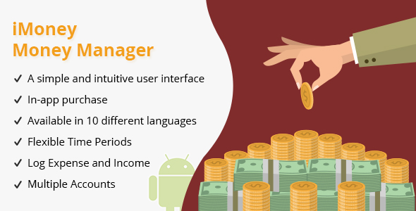 iMoney : Money Manager - Android - CodeCanyon Item for Sale