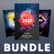 New Year Flyer Bundle Vol.13 - GraphicRiver Item for Sale