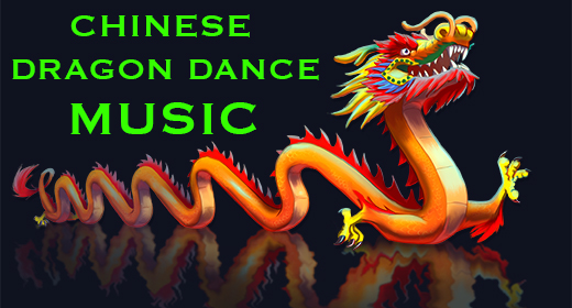 Chinese Dragon Dance Music, Dragon Dance Songs, Asian Drums,