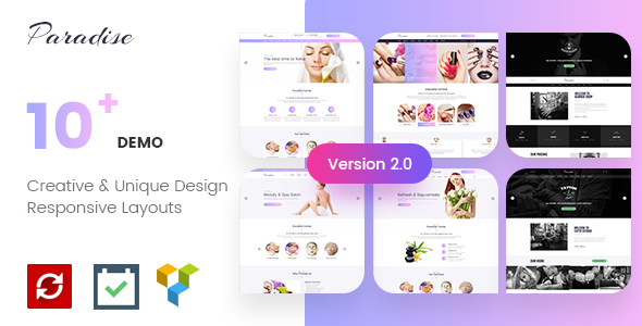 Paradise - Multipurpose Spa & Beauty WordPress Theme - Health & Beauty Retail