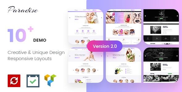 Paradise - Multipurpose Spa & Beauty WordPress Theme