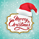 Christmas Card with Hat of Santa Claus - GraphicRiver Item for Sale