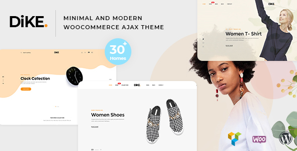 Dike - Minimal and Modern WooCommerce AJAX Theme - WooCommerce eCommerce