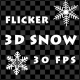 Flicker 3D Snow (Alpha Pack) - VideoHive Item for Sale