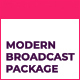 Modern Motion Broadcast Package - VideoHive Item for Sale