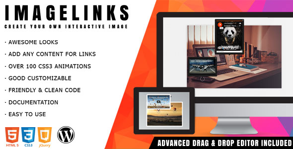 ImageLinks - Interactive Image Builder for WordPress - CodeCanyon Item for Sale