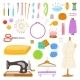 Sewing Vectors - GraphicRiver Item for Sale