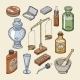 Pharmacy Bottles Vector - GraphicRiver Item for Sale