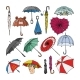 Umbrella Vectors - GraphicRiver Item for Sale