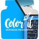 Color it - Notebook Presentation - VideoHive Item for Sale