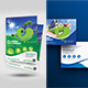 Green Energy Flyer & Postcard Bundle - GraphicRiver Item for Sale
