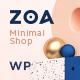 Zoa - Minimalist Elementor WooCommerce Theme - ThemeForest Item for Sale