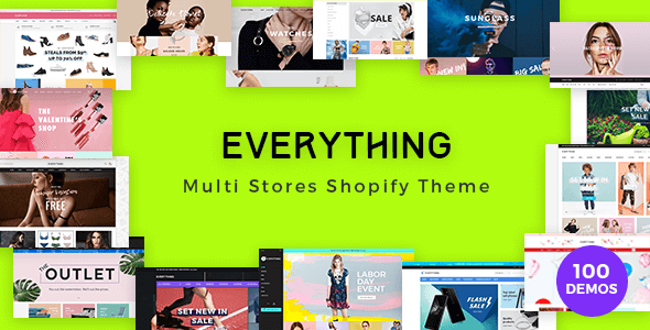 Everything - Multipurpose Premium Responsive Shopify Themes - Fashion, Electronics, Cosmetics, Gifts - Fashion Shopify