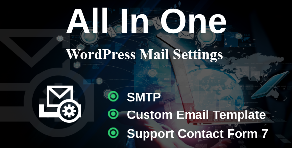 WP Mail Settings - Missing WordPress Settings - CodeCanyon Item for Sale