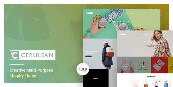 Cerulean – Creative Multi-Purpose Shopify Theme