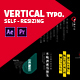 Vertical Typo Titles - VideoHive Item for Sale