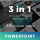 3 in 1 Multipurpose PowerPoint Template Bundle (Vol.07) - GraphicRiver Item for Sale