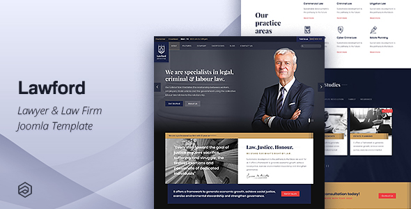 lawford lawyer law firm attorney business joomla template by