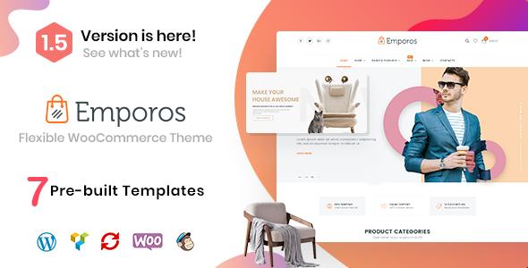 Emporos - Responsive WooCommerce Theme - WooCommerce eCommerce