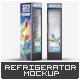 Beverage Display Refrigerator Mock-Up - GraphicRiver Item for Sale