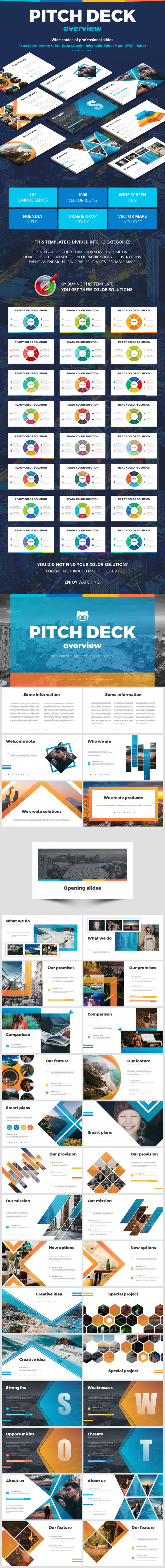 Pitch Deck Overview - Pitch Deck PowerPoint Templates