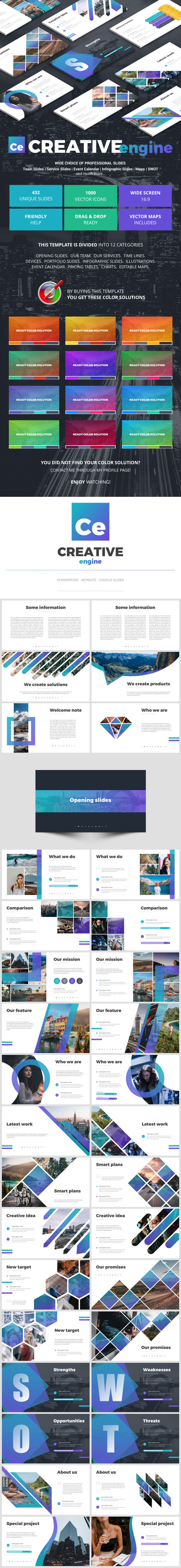 Creative Engine - Business Keynote Templates