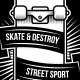 Skate Team T-shirt - GraphicRiver Item for Sale