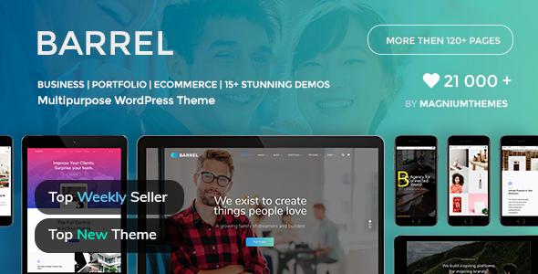 Barrel - Creative Responsive Multi-Purpose WordPress Theme - Business Corporate